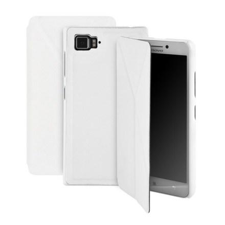 Pouzdro na mobil flipové GoGEN pro Lenovo VIBE Z2 - bílé
