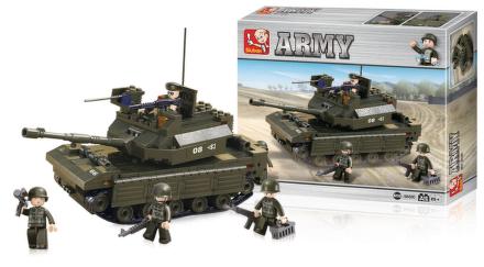 Sluban Tank (312 dílků)