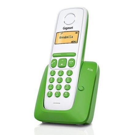 Domácí telefon Siemens Gigaset A130 - zelený - zelený