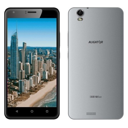 Mobilní telefon Aligator S5510 Dual SIM - šedý
