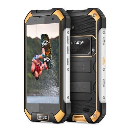 Mobilní telefon Aligator RX550 eXtremo Dual SIM - černý/žlutý