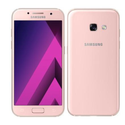 Mobilní telefon Samsung Galaxy A3 (2017) - růžový