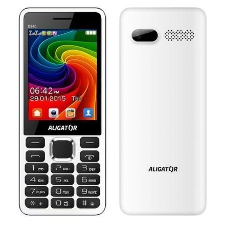 Aligator D940 DS - bílý