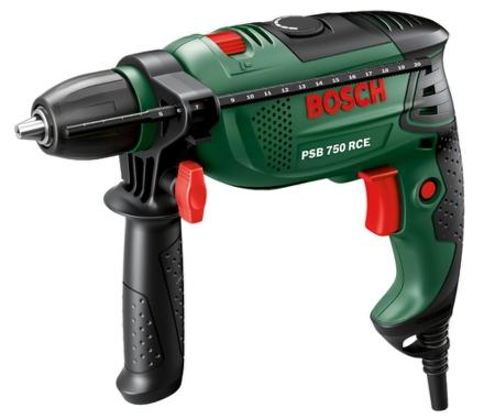 Vrtačka Bosch PSB 750 RCE (CT)