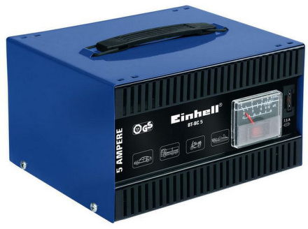 Nabíječka autobaterií Einhell BT-BC 5 Blue