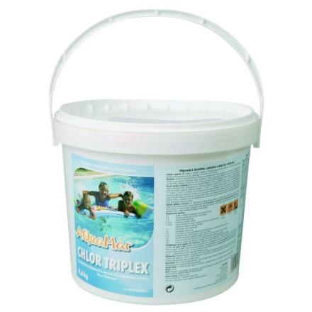 Bazénová chemie Marimex AQuaMar - Chlor Triplex 4,6 kg