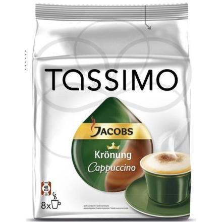 Kapsle Jacobs Cappuccino 8ks pro Tassimo