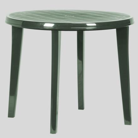 Stůl Allibert Lisa tmavě zelený