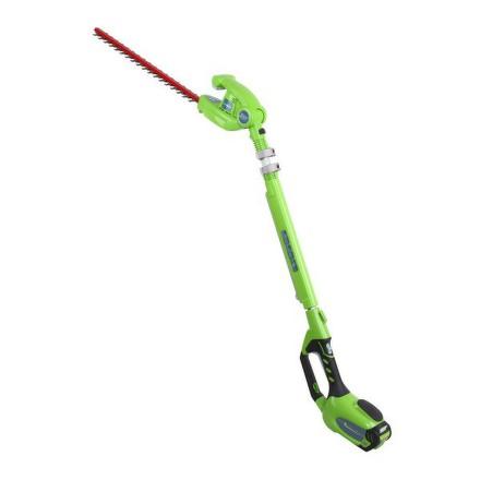 Nůžky na živý plot aku Greenworks GWHT 4051, holé nářadí (bez baterie)
