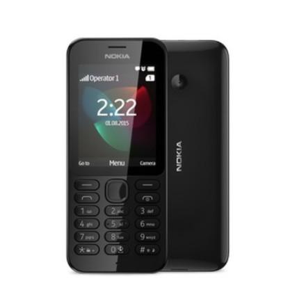 Mobilní telefon Nokia 222 DS Black - černý