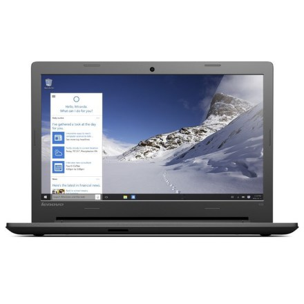 "Ntb Lenovo IdeaPad 100-15 i3-5005U, 4GB, 1TB, 15.6"""", HD, DVD±R/RW, Intel HD, BT, CAM, W10 - černý"
