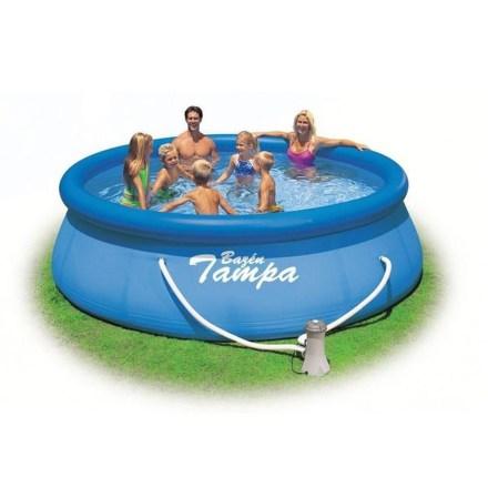 Bazén kruhový Marimex Tampa 3,96x0,84 + KF M1 (28142NP)