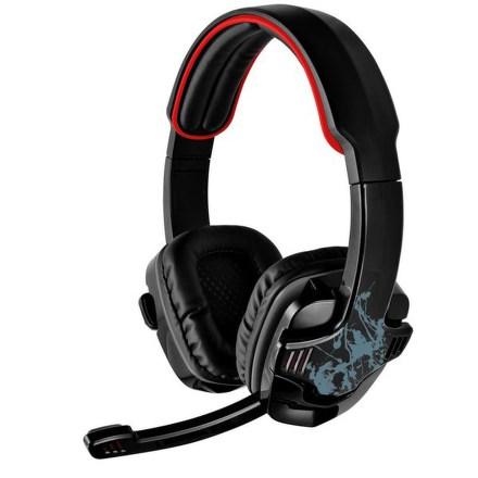 Headset Trust GXT 340 7.1 Surround USB - černý/červený