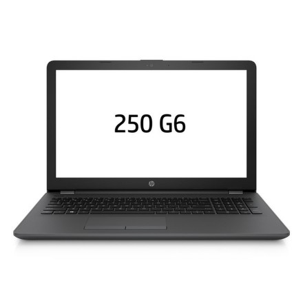 "Ntb HP 250 G6 i3-6006U, 4GB, 256GB, 15.6"""", HD, DVD±R/RW, Intel HD 520, BT, CAM, bez OS - černý"