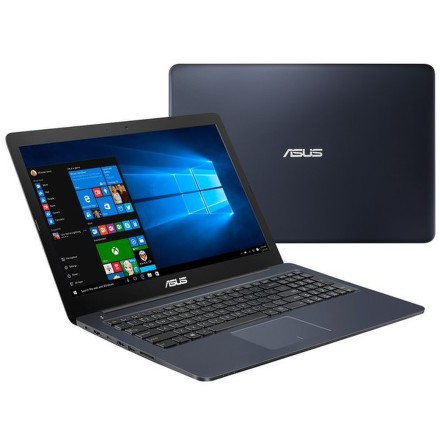 "Ntb Asus R517NA-GO057T Celeron N3350, 4GB, 500GB, 15.6"""", HD, bez mechaniky, Intel HD 500, BT, CAM, W10 - modrý"
