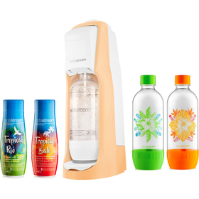 Sada Sodastream Jet Pastel Orange Tropical XL