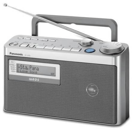 Radiopřijímač Panasonic RF-U350EG-S