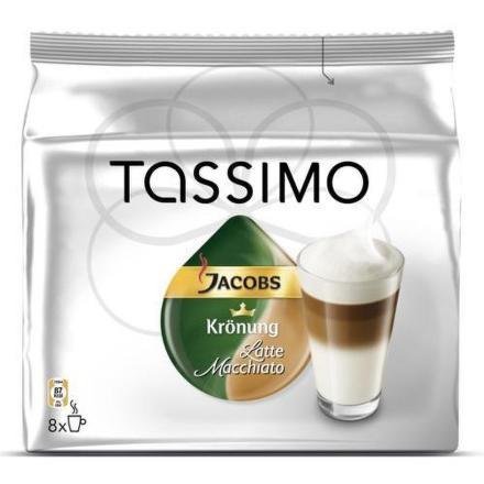 Kapsle Jacobs Latte Macchiato 8ks pro Tassimo