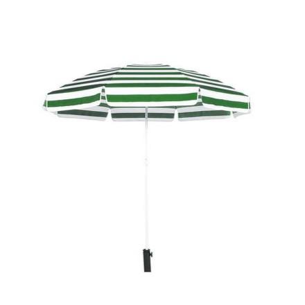 Slunečník Happy Green 50XT2205GS plážový 230 cm, green-green