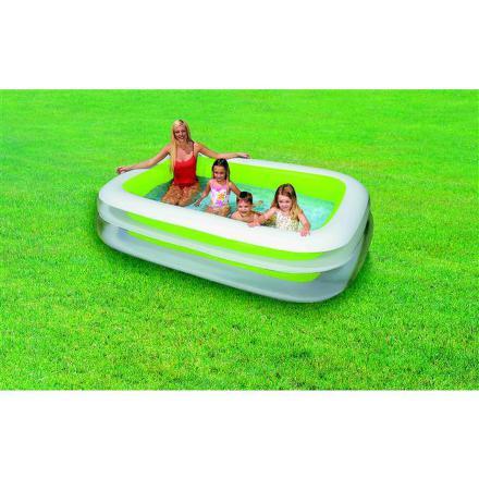 Bazén Intex 2,62 x 1,75 x 0,56 m zelenobílý