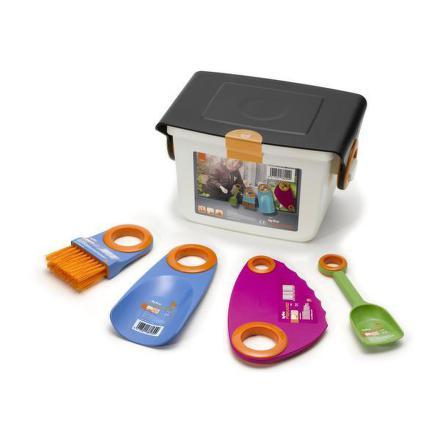 Fiskars 138200 box s dětským nářadím