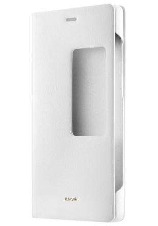 Pouzdro na mobil flipové Huawei Smart Cover pro P8 - bílé