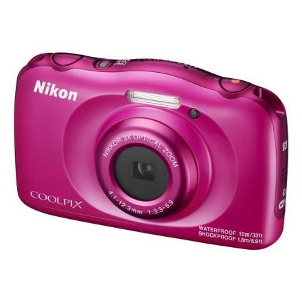 Fotoaparát Nikon Coolpix W100 modrý + dětský batoh ZDARMA