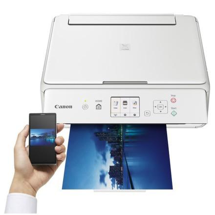 Tiskárna multifunkční Canon PIXMA TS5051 A4, 12str./min, 9str./min, 4800 x 1200, duplex, WF, USB - bílá