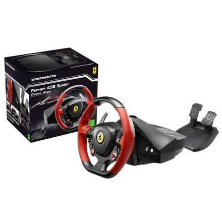 Volant Thrustmaster Ferrari 458 Spider pro Xbox One, One X, One S + pedály