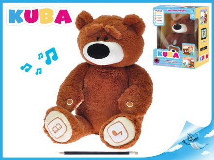 KUBA medvídek plyšový 35cm