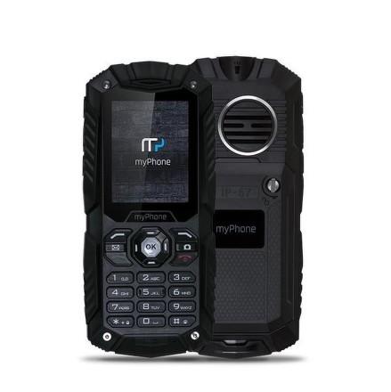 myPhone HAMMER PLUS Dual SIM - černý