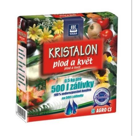 Hnojivo Agro Kristalon Plod a květ 0,5 kg