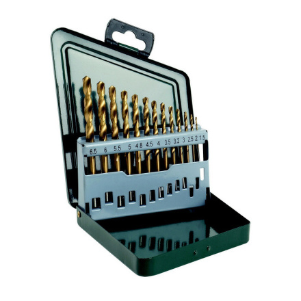 Sada vrtáků Bosch 13 dílná titan do kovu HSS-R