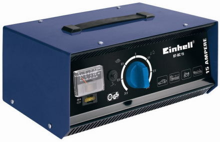 Nabíječka autobaterií Einhell BT-BC 15 Blue
