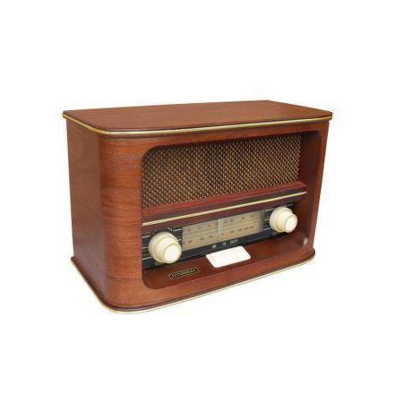 Radiopřijímač Hyundai RA 601 RETRO, třešeň