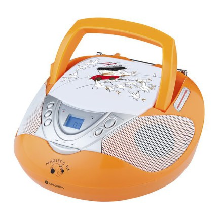 Radiopřijímač s CD GoGEN MAXI RADIO O, CD/MP3/USB, oranžový