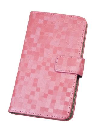 Pouzdro BOOK BRILLI XL Pink