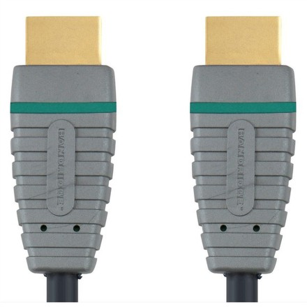 Kabel Bandridge Blue HDMI 1.4, A - A, 2m