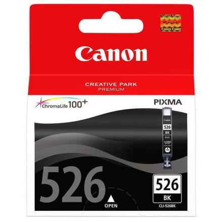 Inkoustová náplň Canon CLI-526Bk, 9ml originální - černá