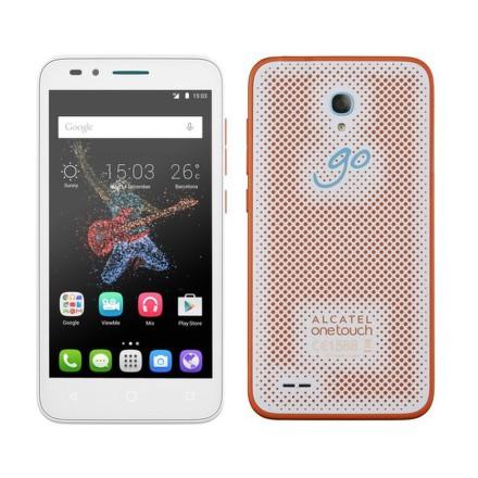 Mobilní telefon ALCATEL ONETOUCH GO PLAY 7048X - bílý/oranžový