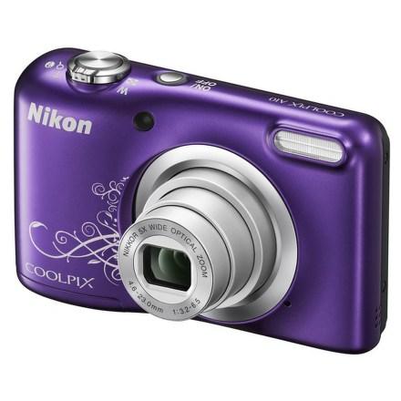 Fotoaparát Nikon Coolpix A10, fialový Lineart
