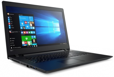 """Ntb Lenovo IdeaPad 110-17IKB i5-7200U, 8GB, 1TB, 17.3"""""""", HD+, DVD±R/RW, AMD R5 M430, 2GB, BT, CAM, W10 - černý"""