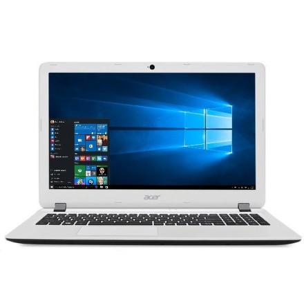 """Ntb Acer Aspire ES15 (ES1-523-483B) A4-7210, 4GB, 1TB, 15.6"""""""", Full HD, DVD±R/RW, AMD R3, BT, CAM, W10 - bílý"""