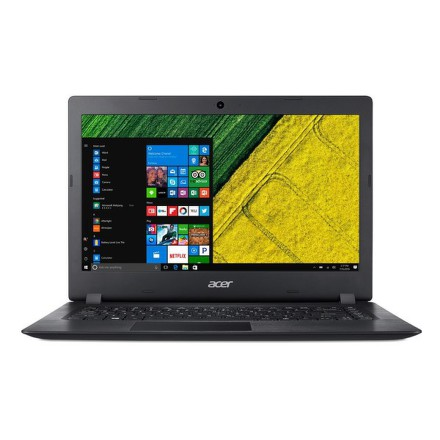 "Ntb Acer Aspire 1 (A114-31-P10A) Pentium N4200, 4GB, 64GB, 14"""", HD, bez mechaniky, Intel HD 505, BT, CAM, W10 - černý"