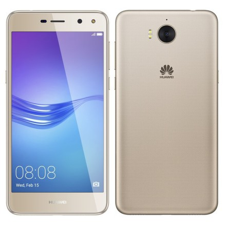 Mobilní telefon Huawei Y6 2017 Dual SIM - zlatý