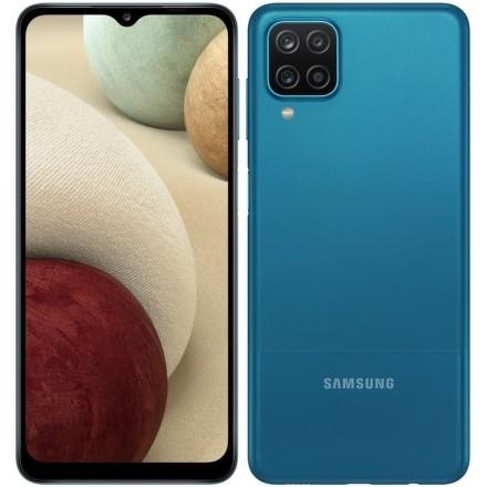 Samsung Galaxy A12 64 GB - modrý
